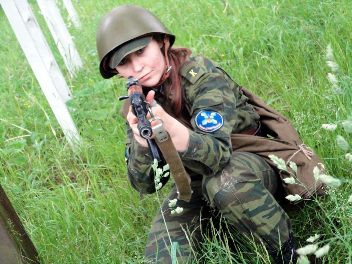 От тайги до британских морей ... : Лица девушек из Российской армии (27)