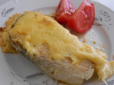 Рыба с сыром в мультиварке