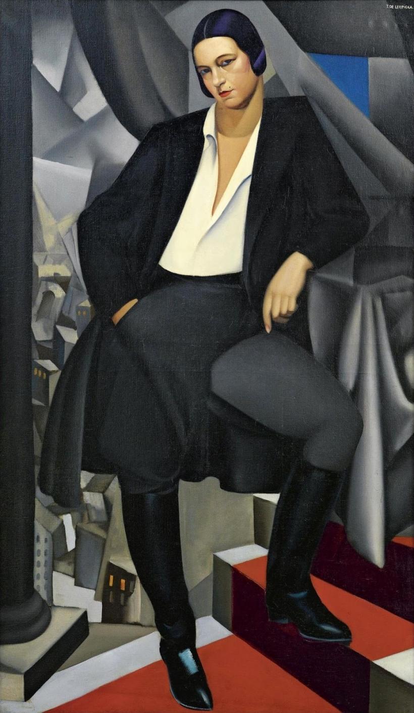 1925_Портрет герцогини де Зал