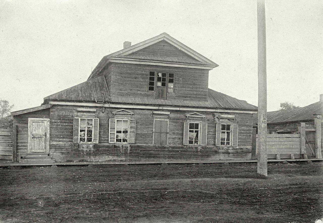 Дом купцов Мясниковых, в котором жил декабрист В.Л.Давыдов