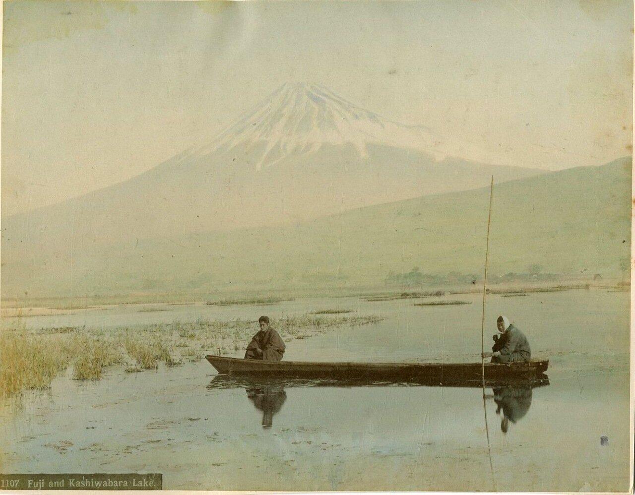 Фудзи и озеро Касивабара