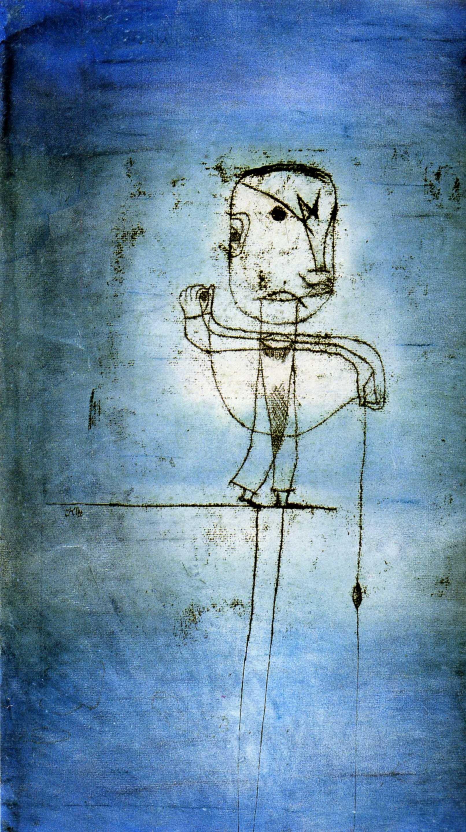 Пауль Клее. Рыбак. 1924
