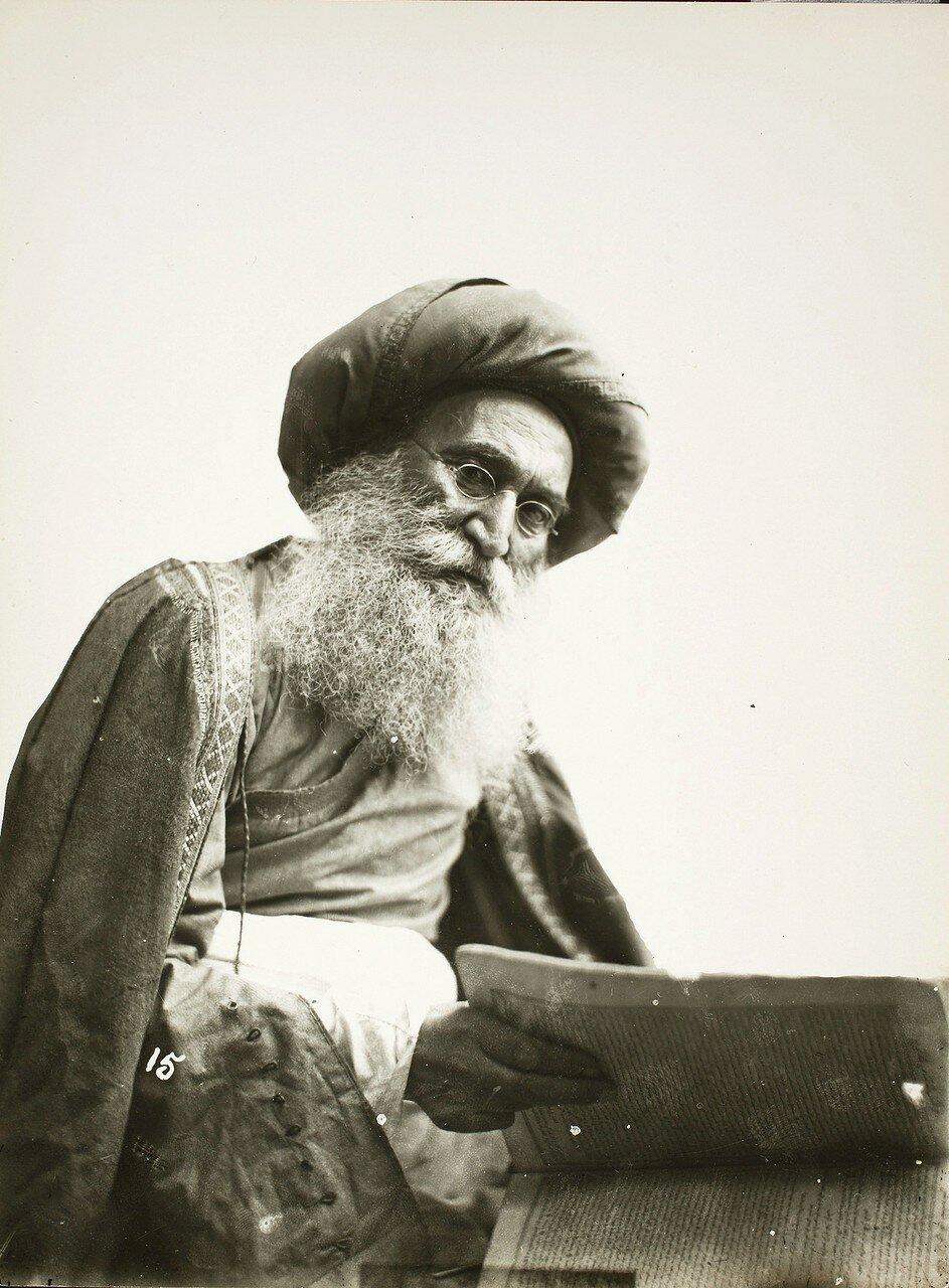 Портрет знаменитого еврейского врача Хакима Нур-Махмуда