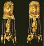 Etruscan gold earrings C.500BC р.jpg