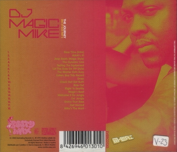 DJ Magic Mike - The Journey (Era Of Bass Part 1) (2000) FLAC