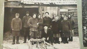 Бригада №4 колхоза имени Ильича Дубровского района Брянской области.