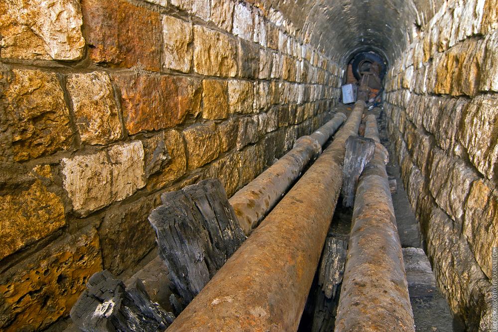 Каменный водосток
