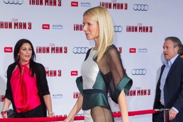 Гвинет Пэлтроу пришла на премьеру «Железного человека» без трусиков