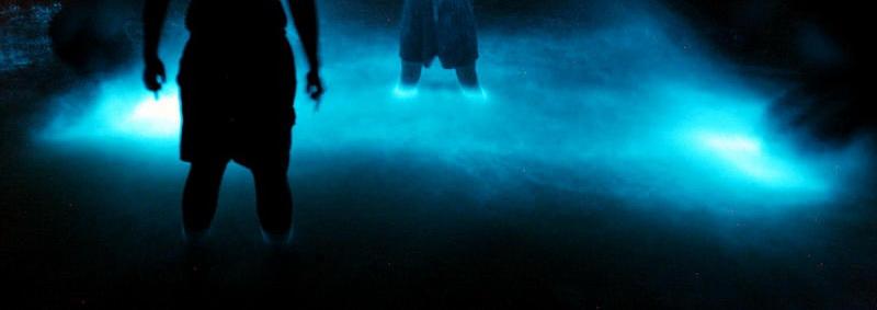 биолюминесцирующий планктон светящийся