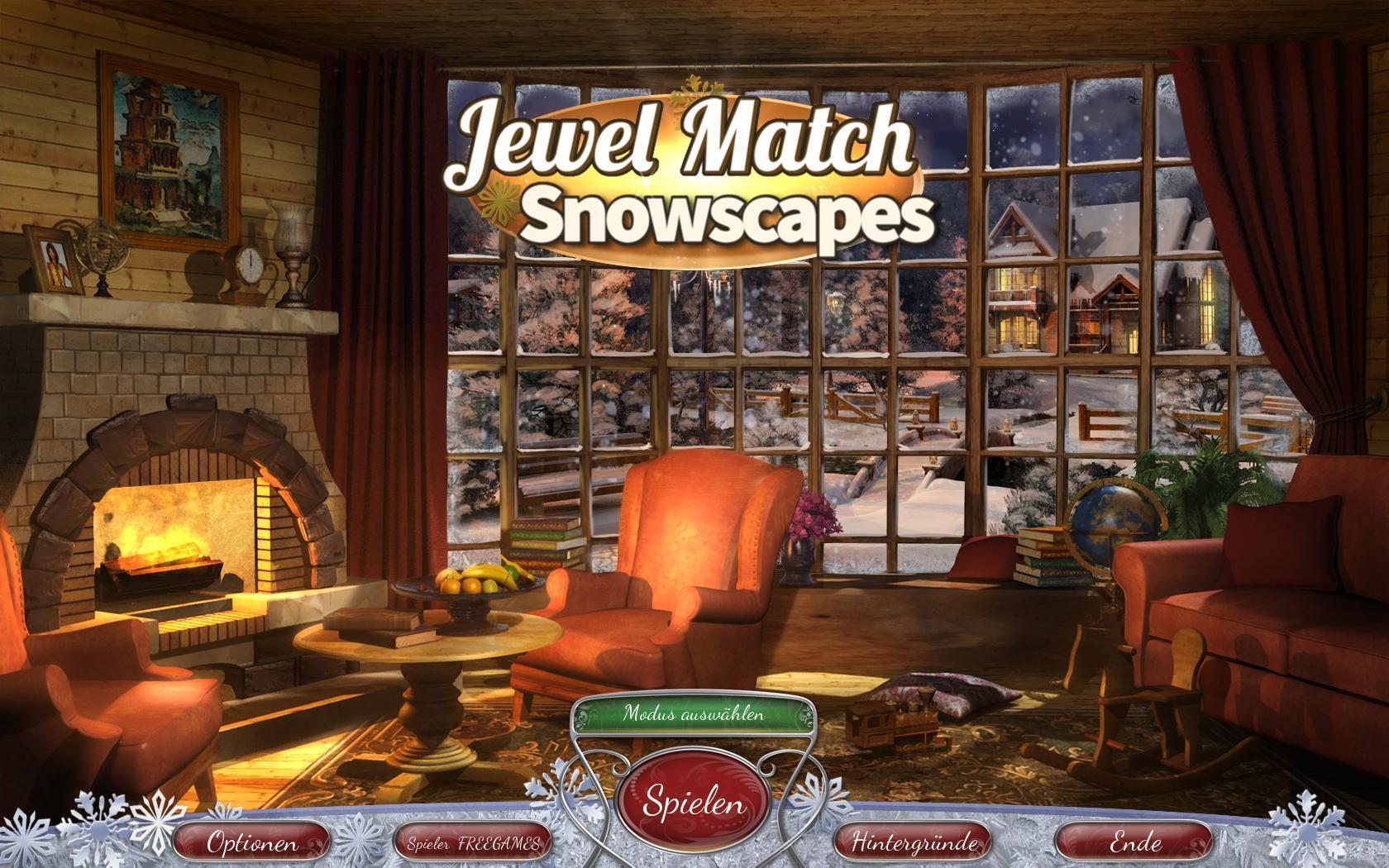 Джевел матч: Снежные пейзажи | Jewel Match: Snowscapes (DE)