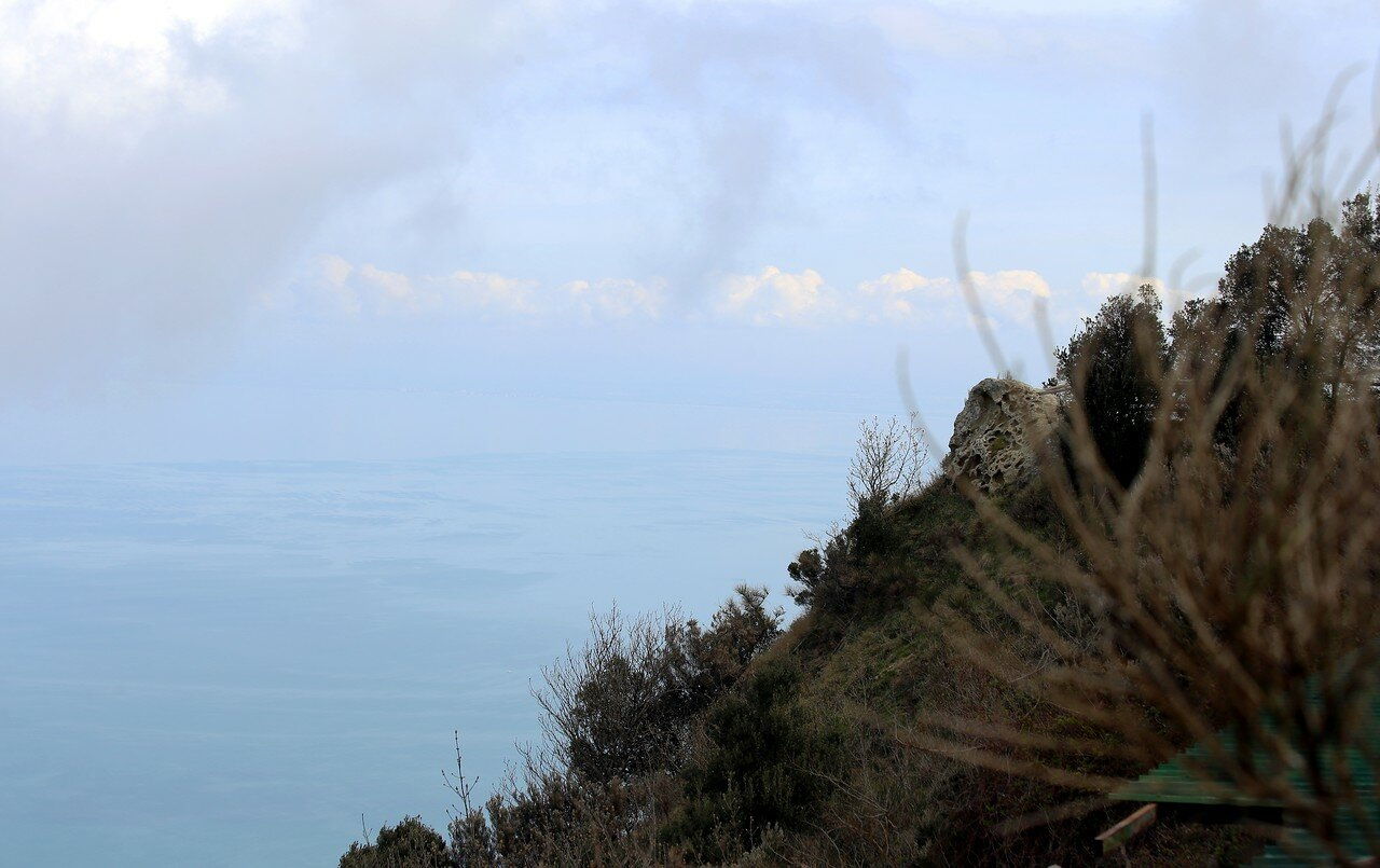 Искья. На вершине Монте Эпомео