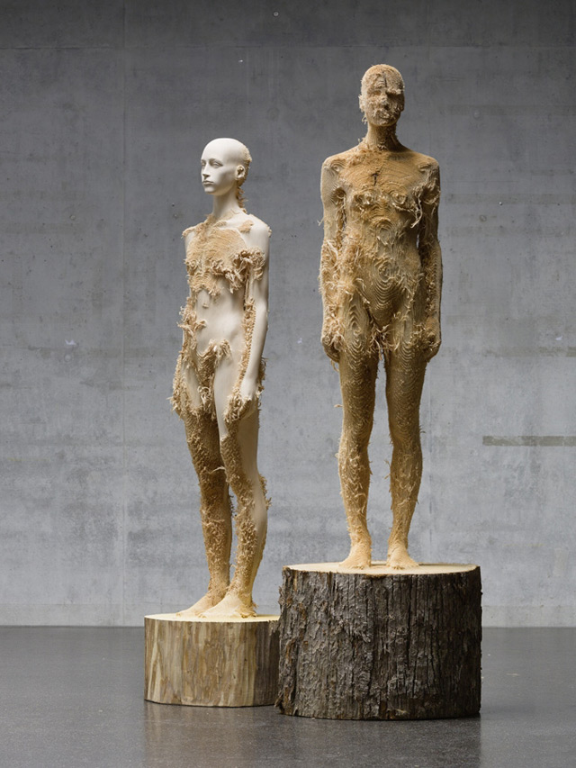 Поразительные деревянные скульптуры