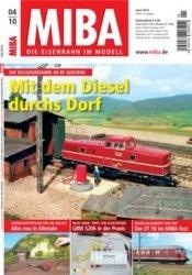 MIBA Die Eisenbahn im Modell 2010-04