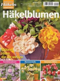 Журнал Decoratives hakeln. Hakelblumen.