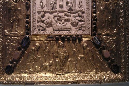 Евангелие аббатисы Феофано (Эссен), середина XI в.