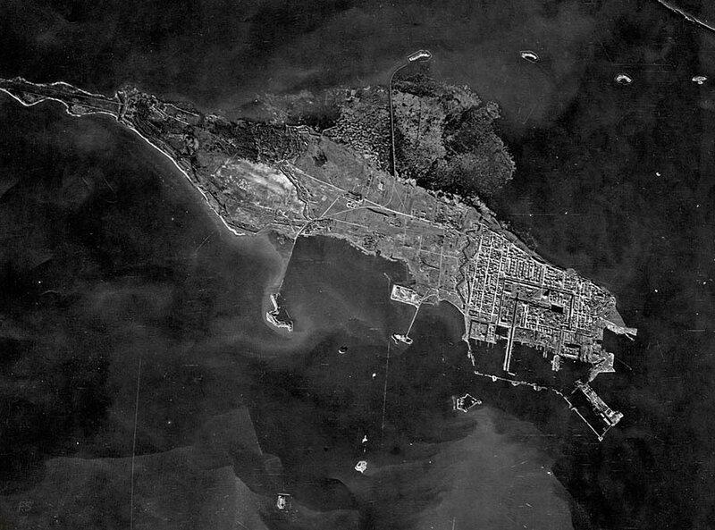 Город-крепость Кронштадт. 1943 год.