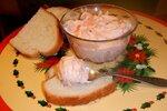 Помазанка из печеного сладкого перца и мягкого сыра