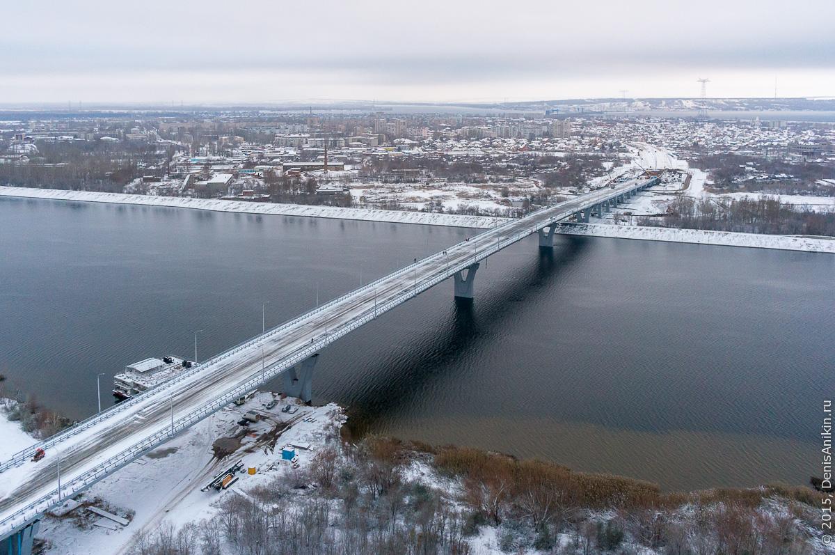 Мостовой переход через судоходный канал в Балаково 19