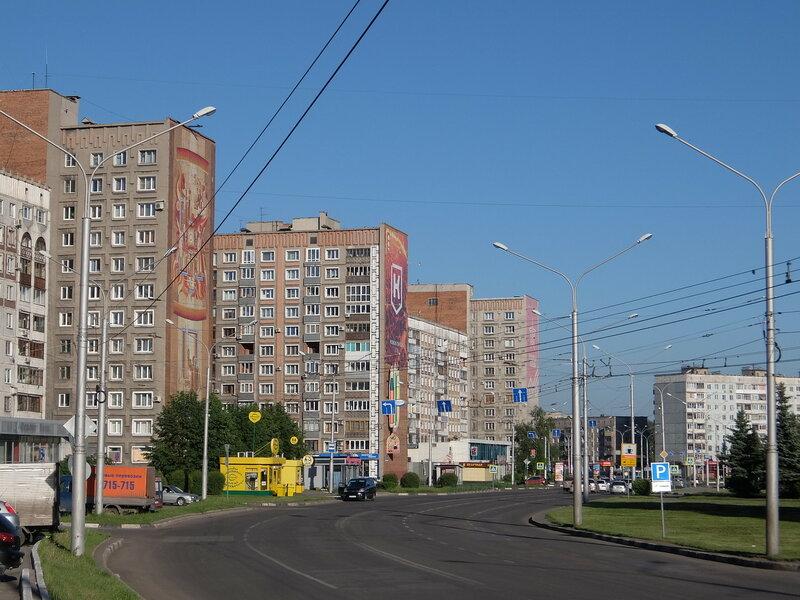 Новокузнецк - Улица Тольятти