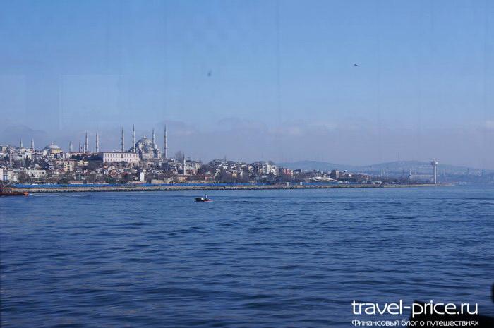 Покидаем Стамбул