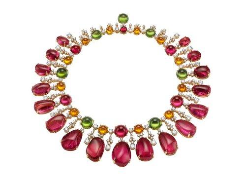 Bulgari's - Pink gold Diva Gala in Costa Smeralda necklace