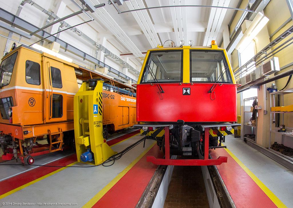 Как сваривают рельсы для Московского метрополитена