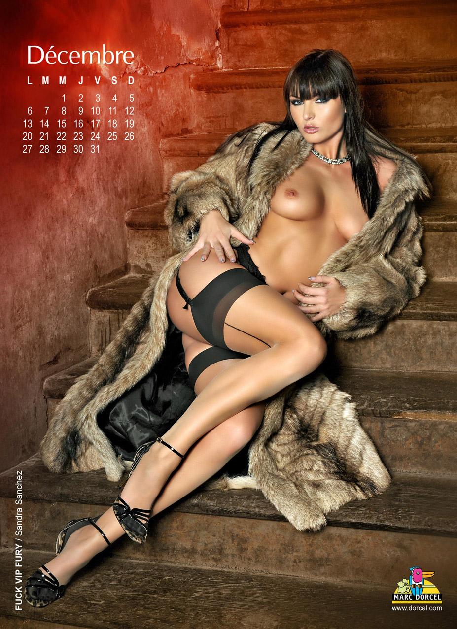 Календарь студии Marc Dorcel на 2010 год - Sandra Sanchez