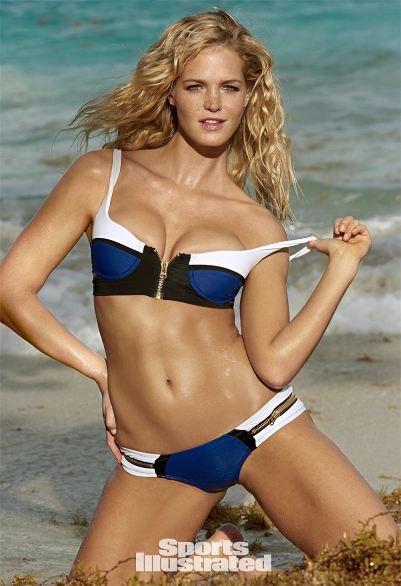 Эрин Хизертон в купальниках Sports Illustrated Swimsuit 2015 - Erin Heatherton by Yu Tsai in St.John, US Virgin Islands