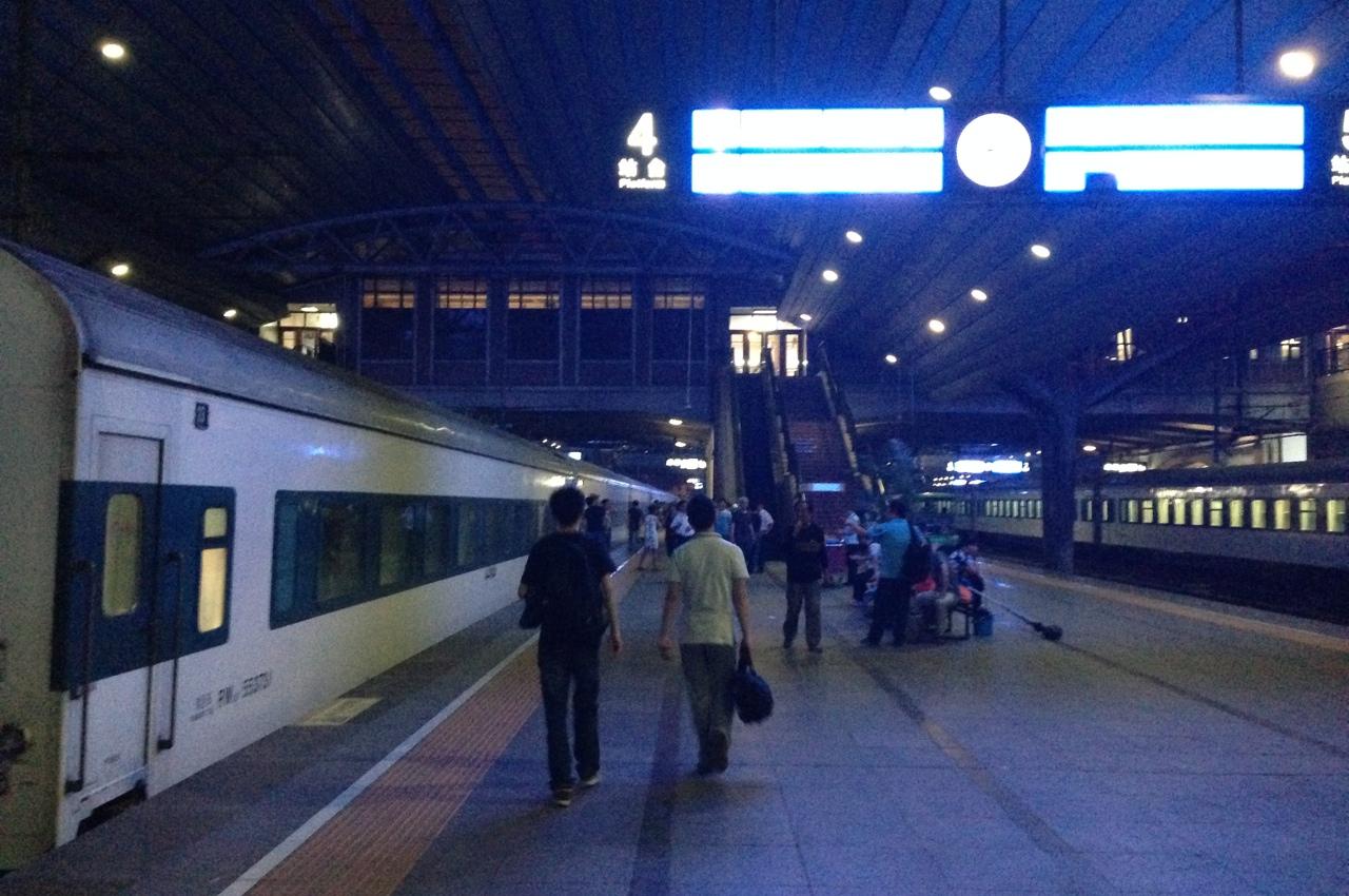 Наш поезд до Харбина