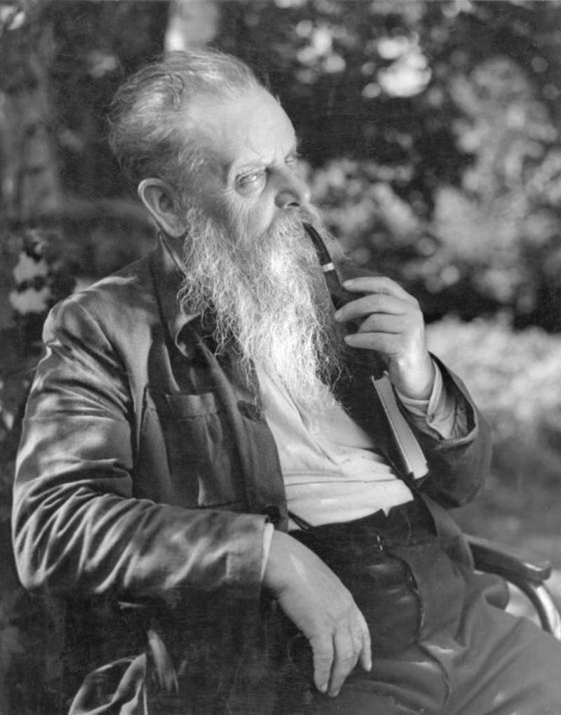 1940. Писатель Павел Бажов