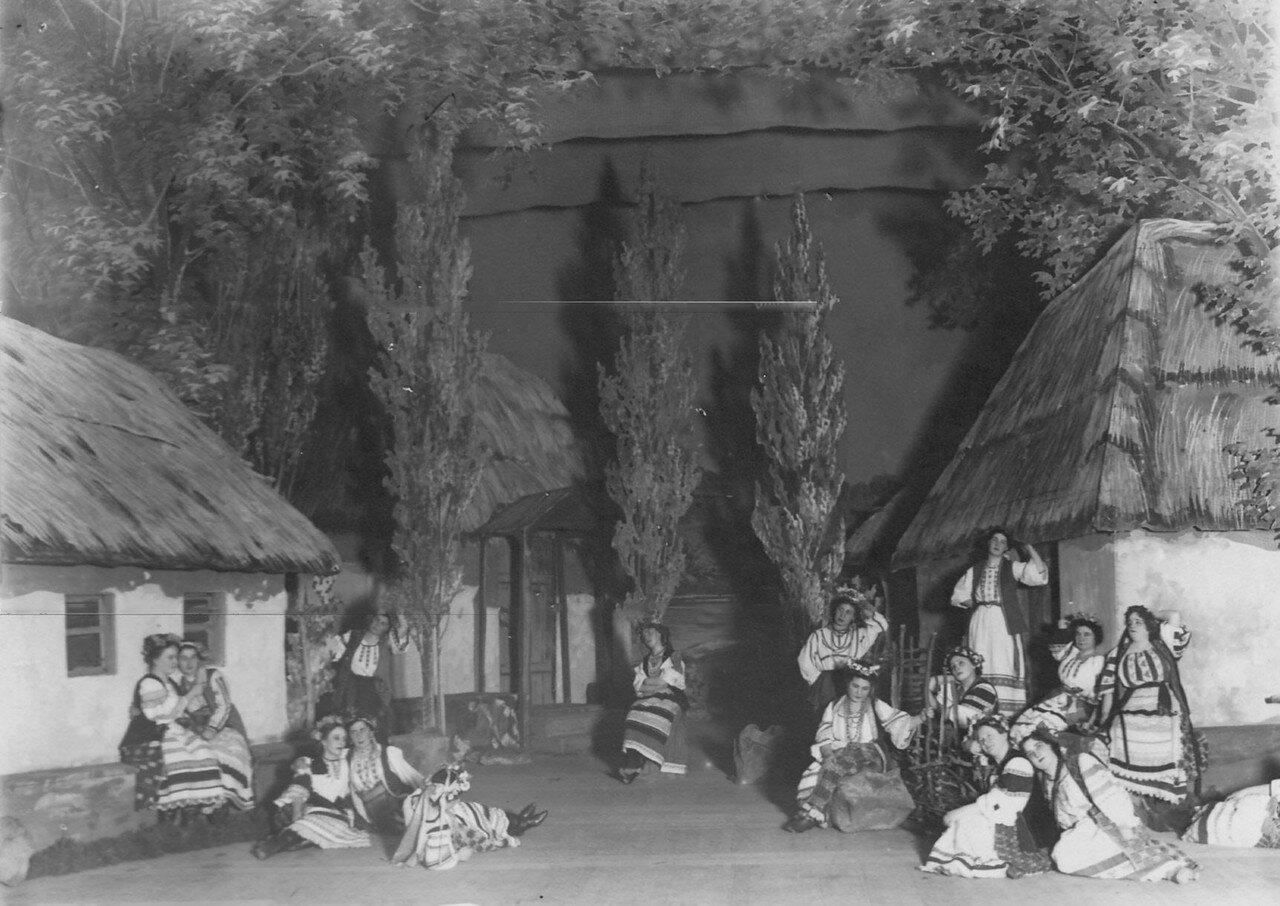 03. Начало 1-го акта оперы А.Н. Римского-Корсакова «Майская ночь». 1910