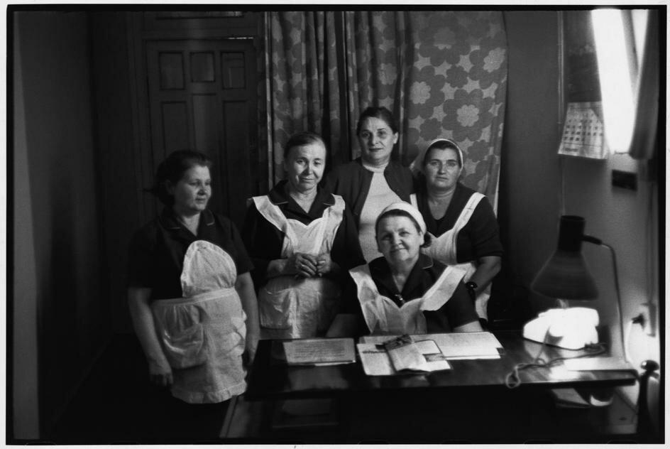 1972. Азербайджан. Баку.  Гостиница Интурист. Горничные