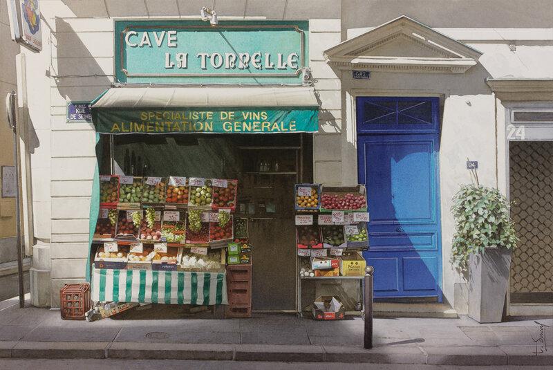 L'épicier du coin de la rue de Seine