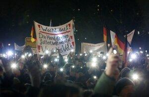 В Германии прошли митинги против «исламизации» страны