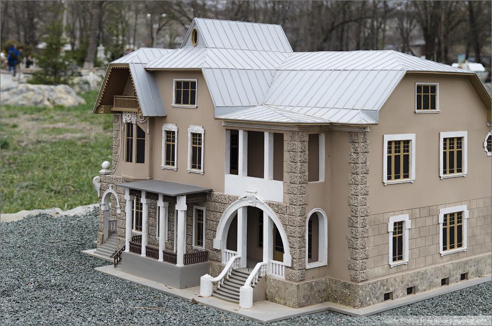 Дача Джалита в Евпатории. Бахчисарай, парк миниатюр.