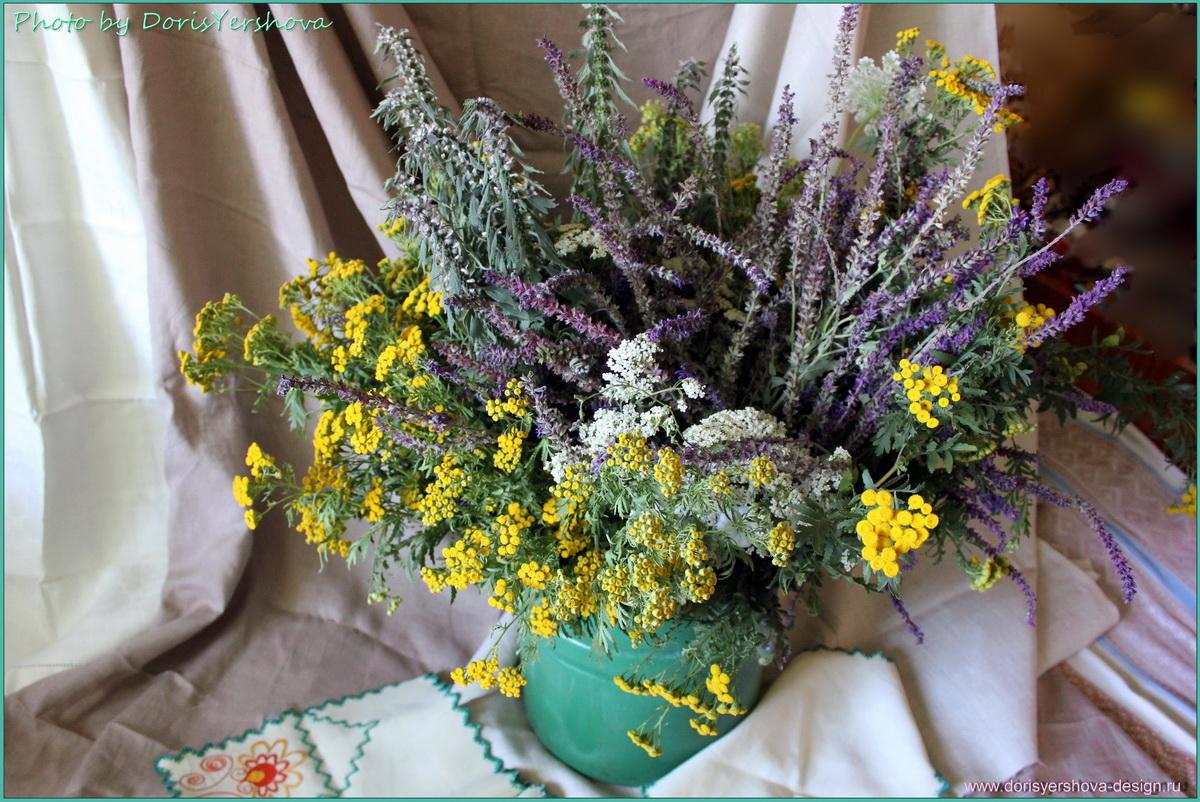 букет лекарственных трав, фото Дорис Ершовой