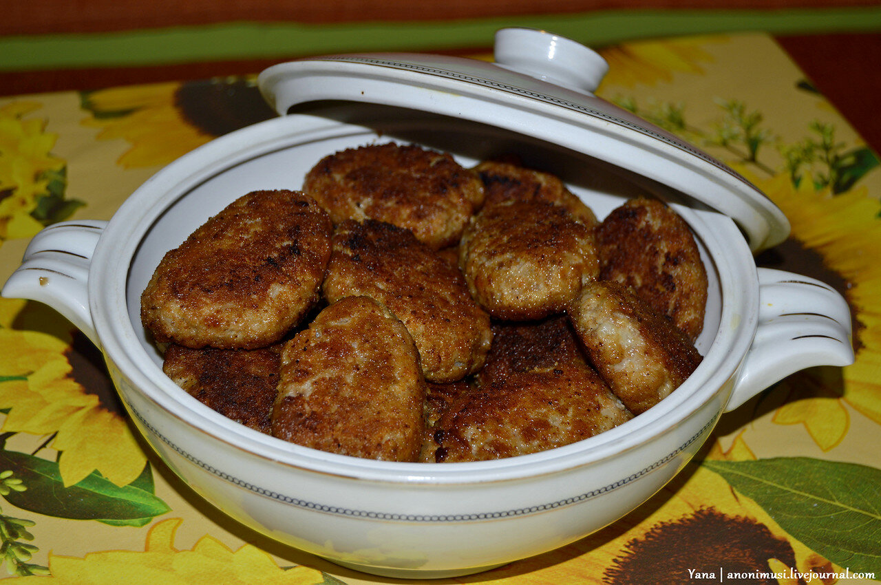 Котлеты из говядины для детей от года рецепты