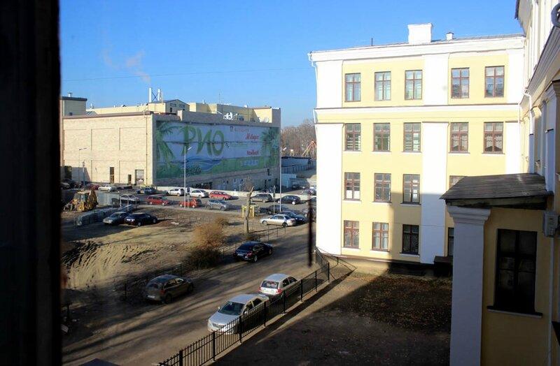 Вид из окна Дома пионеров