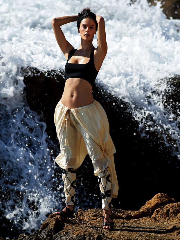 Алессандра Амбросио (Alessandra Ambrosio) в журнале American Glamour