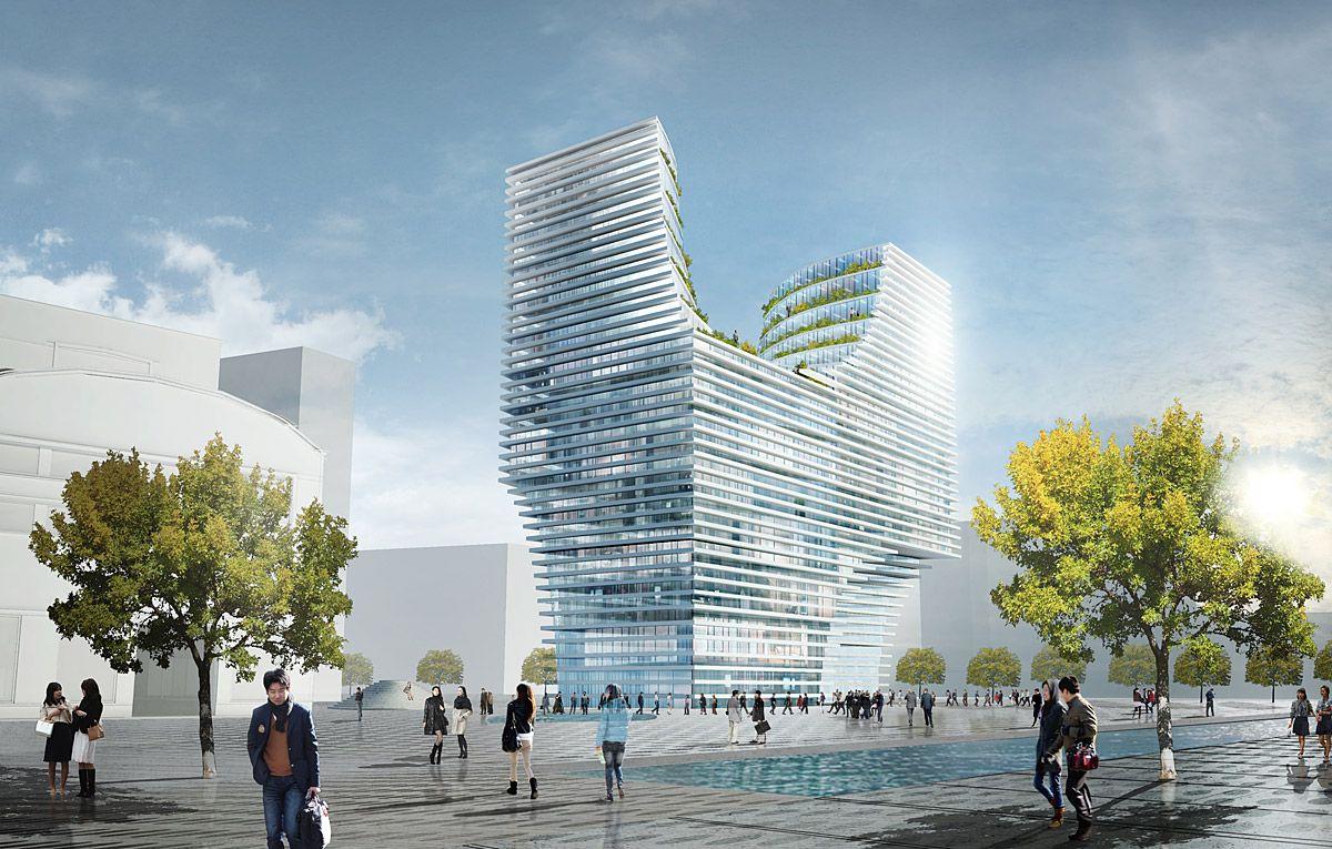 Проект Hangzhou Gateway от JDS Architects