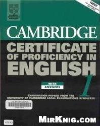 Аудиокнига Cambridge Certificate of Proficiency in English 1