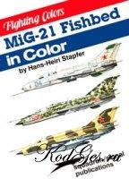 Книга MiG-21 Fishbed in color