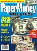 Книга Paper Money Values (August 2009)