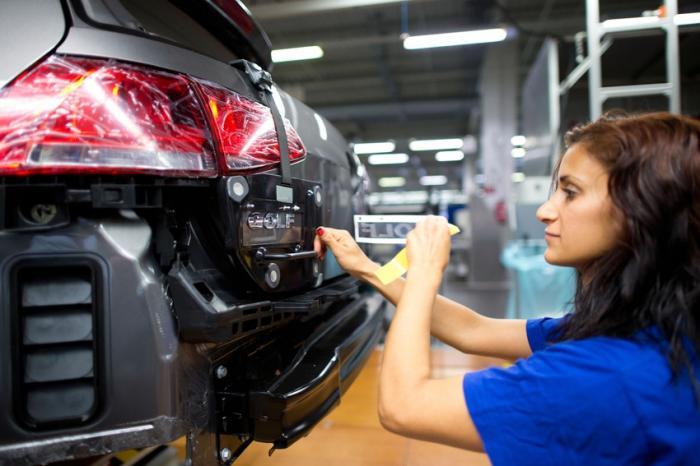 Как делают автомобили Volkswagen