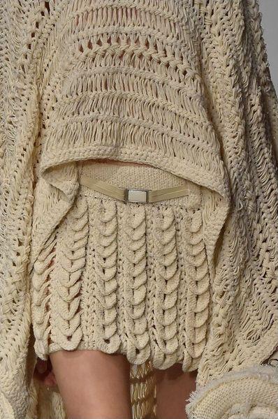 Вязание с подиума