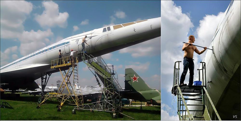 Ту-144 77106 Монино