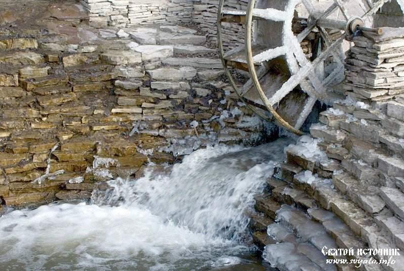 Каскад родников «Тегермэн шарлавыгы», «Мельничный водопад»