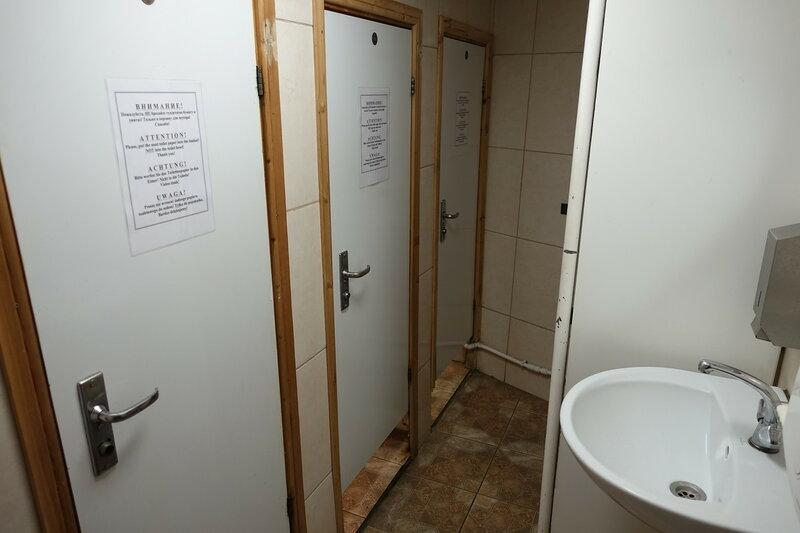 Туалет на барке Крузенштерн