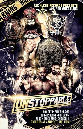 Post image of AAW Unstoppable 2017