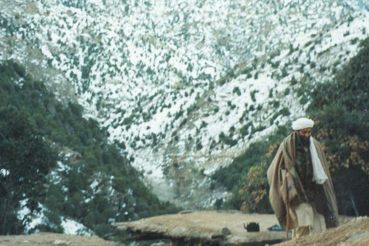 Усама на прогулке
